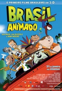 Brasil Animado 3D - Poster / Capa / Cartaz - Oficial 2