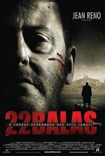 22 Balas - Poster / Capa / Cartaz - Oficial 1