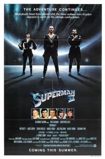 Superman II - A Aventura Continua - Poster / Capa / Cartaz - Oficial 1