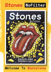 Rolling Stones - Barcelona 2017 - Poster / Capa / Cartaz - Oficial 1