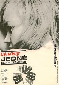 Os Amores de uma Loira - Poster / Capa / Cartaz - Oficial 1