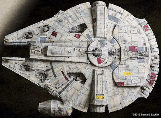 Star Wars: veja uma impressionante réplica da Millennium Falcon feita em papel (SIM!)