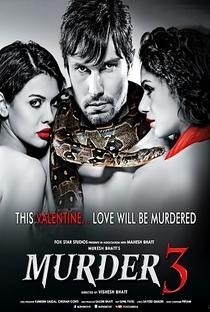 Murder 3 - Poster / Capa / Cartaz - Oficial 1