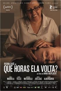Que Horas Ela Volta? - Poster / Capa / Cartaz - Oficial 1
