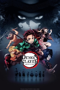 Demon Slayer: Kimetsu no Yaiba - Poster / Capa / Cartaz - Oficial 1