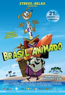 Brasil Animado 3D - Poster / Capa / Cartaz - Oficial 1