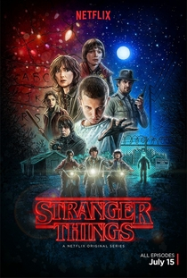 Stranger Things (1ª Temporada) - Poster / Capa / Cartaz - Oficial 1