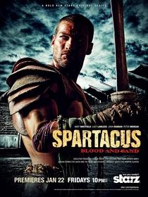 Spartacus: Sangue e Areia (1ª Temporada) - Poster / Capa / Cartaz - Oficial 4