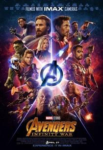Vingadores: Guerra Infinita - Poster / Capa / Cartaz - Oficial 5
