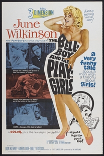 The Bellboy and the Playgirls - Poster / Capa / Cartaz - Oficial 1