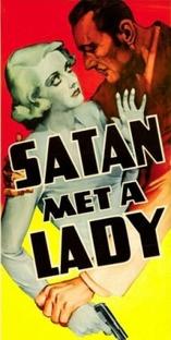 Satã Encontrou uma Dama - Poster / Capa / Cartaz - Oficial 1