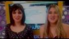 Titi e Dani Calabresa lendo meu tweet no Acesso MTV