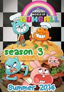 O Incrível Mundo de Gumball (3ª Temporada) - Poster / Capa / Cartaz - Oficial 4