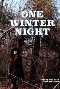 One Winter Night - Poster / Capa / Cartaz - Oficial 2