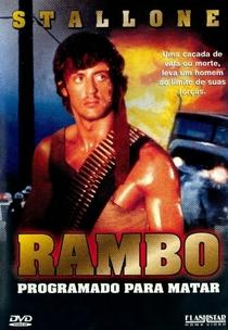Rambo - Programado Para Matar - Poster / Capa / Cartaz - Oficial 5
