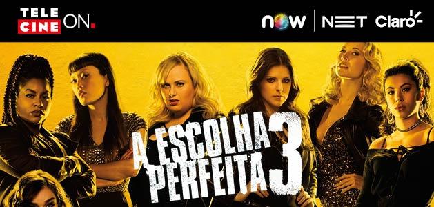 """Hora da comédia musical! Alugue AGORA e assista """"A Escolha Perfeita 3"""""""