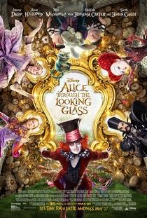 Alice Através do Espelho - Poster / Capa / Cartaz - Oficial 12