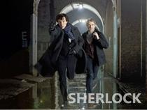 Sherlock (1ª Temporada) - Poster / Capa / Cartaz - Oficial 6