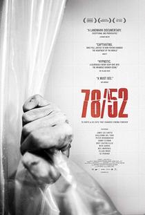 78/52: Hitchcock's Shower Scene - Poster / Capa / Cartaz - Oficial 1