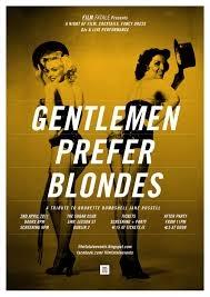 Os Homens Preferem as Loiras - Poster / Capa / Cartaz - Oficial 8