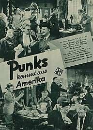 Punks vem da America - Poster / Capa / Cartaz - Oficial 1