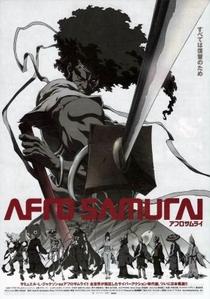 Afro Samurai - Poster / Capa / Cartaz - Oficial 1