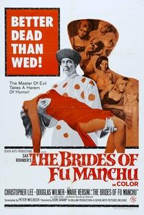 As 13 Noivas de Fu Manchu - Poster / Capa / Cartaz - Oficial 1