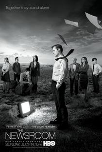 The Newsroom (2ª Temporada) - Poster / Capa / Cartaz - Oficial 1