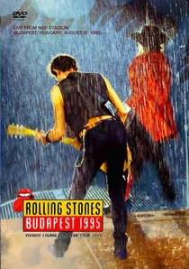 Rolling Stones - Budapest '95 - Poster / Capa / Cartaz - Oficial 1