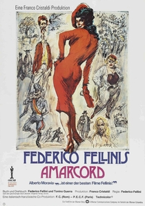 Amarcord - Poster / Capa / Cartaz - Oficial 2