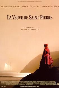 A Viúva de Saint-Pierre - Poster / Capa / Cartaz - Oficial 1
