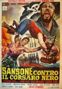 Hércules Contra o Corsário Negro - Poster / Capa / Cartaz - Oficial 1
