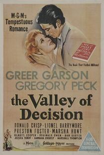 O Vale da Decisão - Poster / Capa / Cartaz - Oficial 1