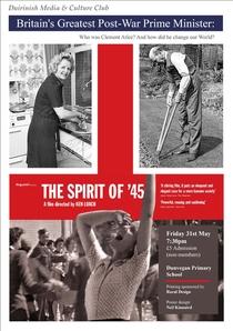 O Espírito de 45 - Poster / Capa / Cartaz - Oficial 3