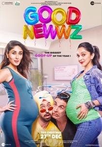 Good Newwz - Poster / Capa / Cartaz - Oficial 1