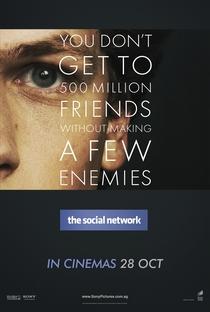 A Rede Social - Poster / Capa / Cartaz - Oficial 4