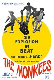 Head - Os Monkees Estão Soltos - Poster / Capa / Cartaz - Oficial 4