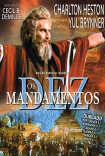 Os Dez Mandamentos - Poster / Capa / Cartaz - Oficial 11