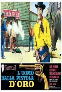 O Homem da Pistola de Ouro - Poster / Capa / Cartaz - Oficial 1