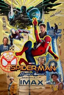 Homem-Aranha: De Volta ao Lar - Poster / Capa / Cartaz - Oficial 12