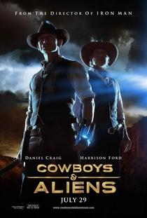 Cowboys & Aliens - Poster / Capa / Cartaz - Oficial 3