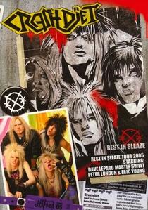 CRASHDÏET: Rest In Sleaze Tour - Poster / Capa / Cartaz - Oficial 1