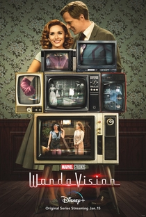 WandaVision - Poster / Capa / Cartaz - Oficial 2