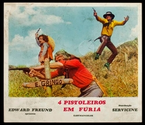 Quatro Pistoleiros em Fúria - Poster / Capa / Cartaz - Oficial 1