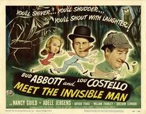 Abbott e Costello e o Homem Invisível - Poster / Capa / Cartaz - Oficial 4