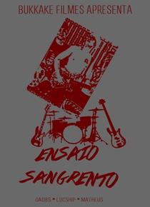 Ensaio Sangrento - Poster / Capa / Cartaz - Oficial 1