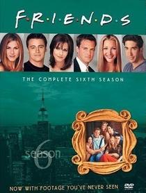 Friends (6ª Temporada) - Poster / Capa / Cartaz - Oficial 1