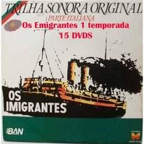 Os Imigrantes - Poster / Capa / Cartaz - Oficial 1