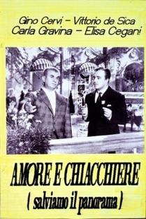 Amore e Chiacchiere (Salviamo il Panorama) - Poster / Capa / Cartaz - Oficial 1