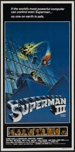 Superman III - Poster / Capa / Cartaz - Oficial 3